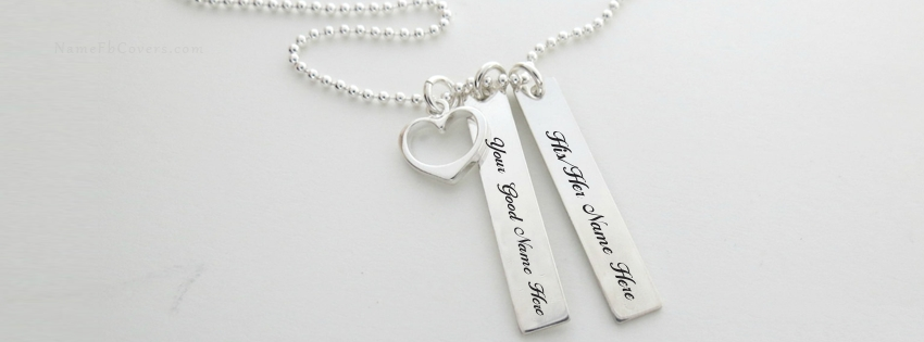 AMAZING SILVER HEART NECKLACE FOR COUPLE