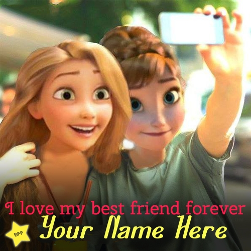 Girls Best Friends Forever Image With Name