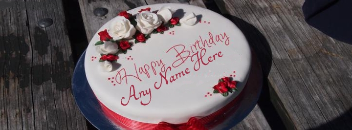 Write Name on Best Happy Birthday To You Cake