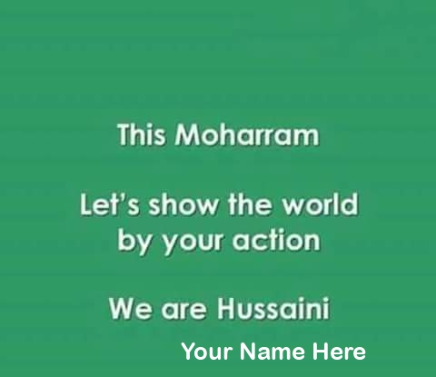 We Are Hussaini