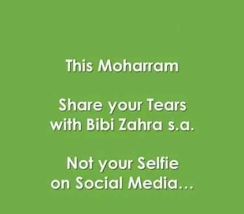 Share your Tears with Bibi Zahra(S.A)